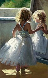 Pretty as a Picture by Sherree Valentine Daines - Canvas on Board sized 7x12 inches. Available from Whitewall Galleries